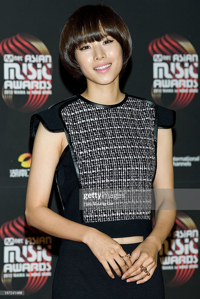 Actress Cho Youn-Hee attends the 2012 Mnet Asian Music Awards Red Carpet on November 30, 2012 in Hong Kong, Hong Kong.