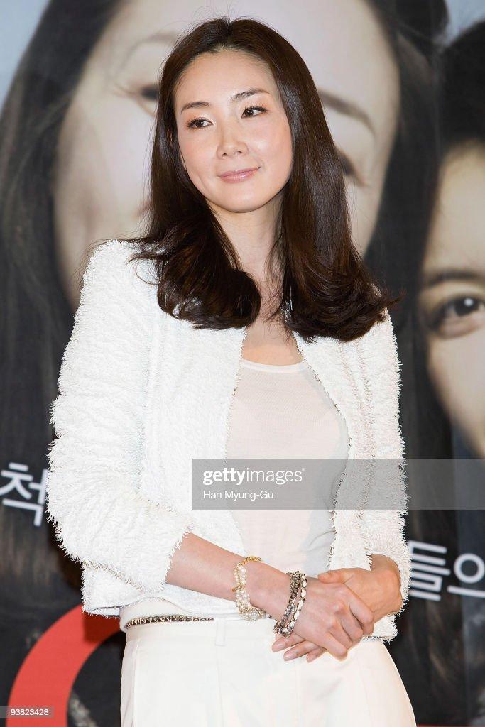 Actress Choi Ji-woo attends the 'The Actreses' press conference at Mega Box on November 17, 2009 in Seoul, South Korea.