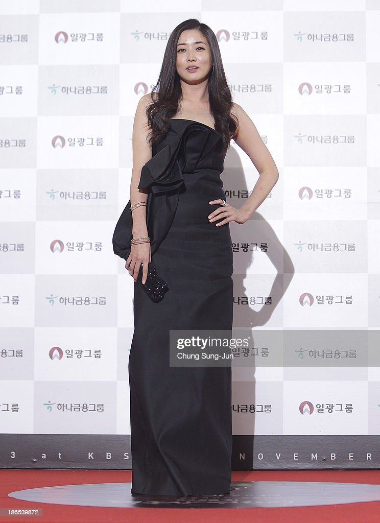 Actress Choi Jung-Won arrives for the 50th Daejong Film Awards at KBS hall on November 1, 2013 in Seoul, South Korea.