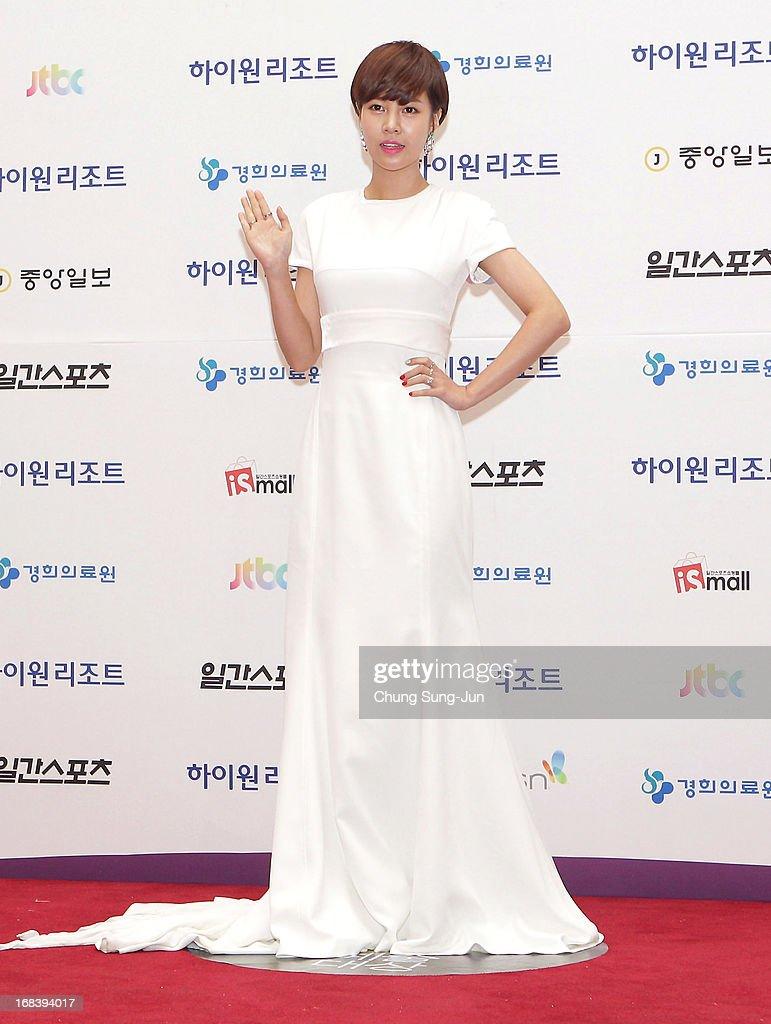 Actress Choi Yoon-Ang arrives for the 49th Paeksang Arts Awards on May 9, 2013 in Seoul, South Korea.