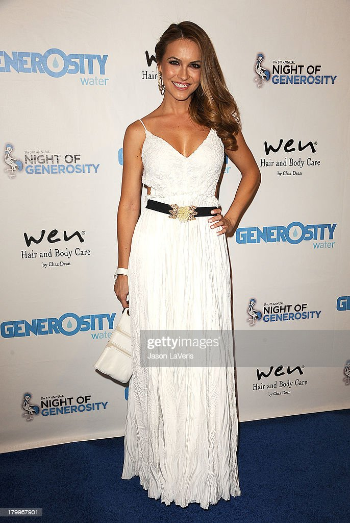Actress Chrishell Stause attends Generosity Water's 5th annual Night of Generosity benefit at Beverly Hills Hotel on September 6, 2013 in Beverly Hills, California.