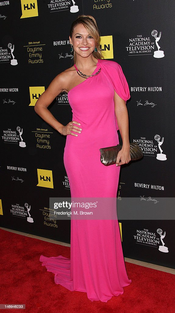 Actress Chrishell Stause attends the 39th Annual Daytime Entertainment Emmy Awards at The Beverly Hilton Hotel on June 23, 2012 in Beverly Hills, California.