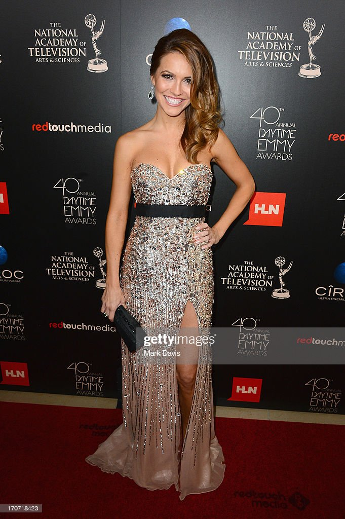 Actress <a gi-track='captionPersonalityLinkClicked' href=/galleries/search?phrase=Chrishell+Stause&family=editorial&specificpeople=675283 ng-click='$event.stopPropagation()'>Chrishell Stause</a> attends The 40th Annual Daytime Emmy Awards at The Beverly Hilton Hotel on June 16, 2013 in Beverly Hills, California.