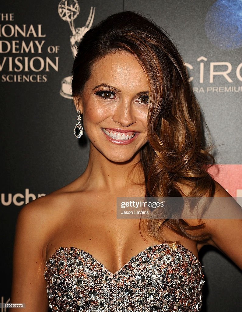 Actress Chrishell Stause attends the 40th annual Daytime Emmy Awards at The Beverly Hilton Hotel on June 16, 2013 in Beverly Hills, California.