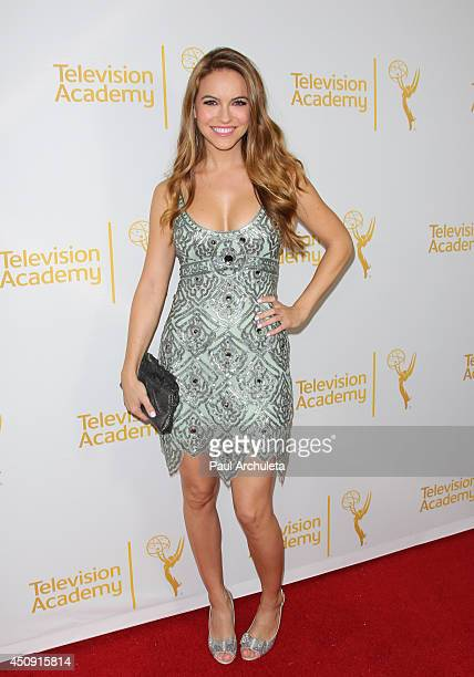Actress Chrishell Stause attends the Daytime Emmy Nominee Reception at The London West Hollywood on June 19 2014 in West Hollywood California