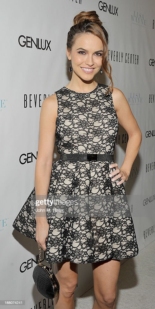 Actress Chrishell Stause attends the GENLUX magazine Launch Event Party at The Beverly Center on November 14, 2013 in Los Angeles, California.