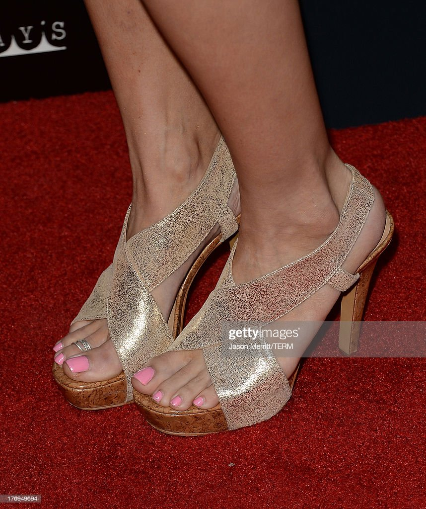 Actress Chrishell Strause attends the premiere of the Film Arcade and Cinedigm's 'Afternoon Delight' at ArcLight Hollywood on August 19, 2013 in Hollywood, California.