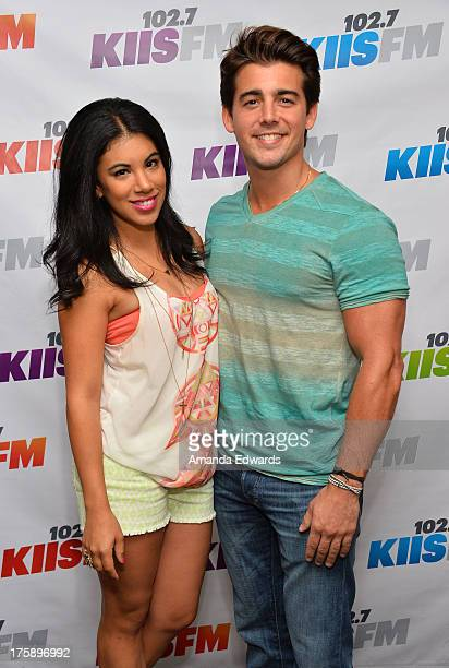 Actress Chrissie Fit and actor John DeLuca arrive at the 1027 KIIS FM Teen Choice Awards PreParty at W Los Angeles Westwood on August 9 2013 in Los...
