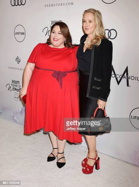 Actress Chrissy Metz and NBC Entertainment President Jennifer Salke arrive at the Variety's Power Of Women Los Angeles at the Beverly Wilshire Four...