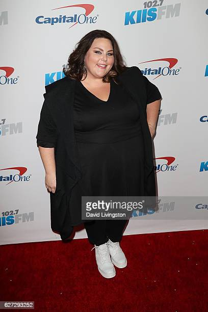 Actress Chrissy Metz arrives at 1027 KIIS FM's Jingle Ball 2016 at the Staples Center on December 2 2016 in Los Angeles California