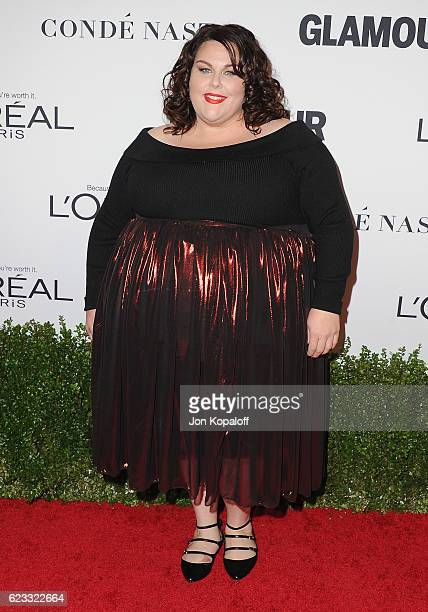 Actress Chrissy Metz arrives at Glamour Women Of The Year 2016 at NeueHouse Hollywood on November 14 2016 in Los Angeles California