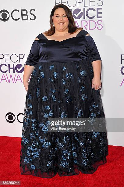 Actress Chrissy Metz arrives at People's Choice Awards 2017 at Microsoft Theater on January 18 2017 in Los Angeles California