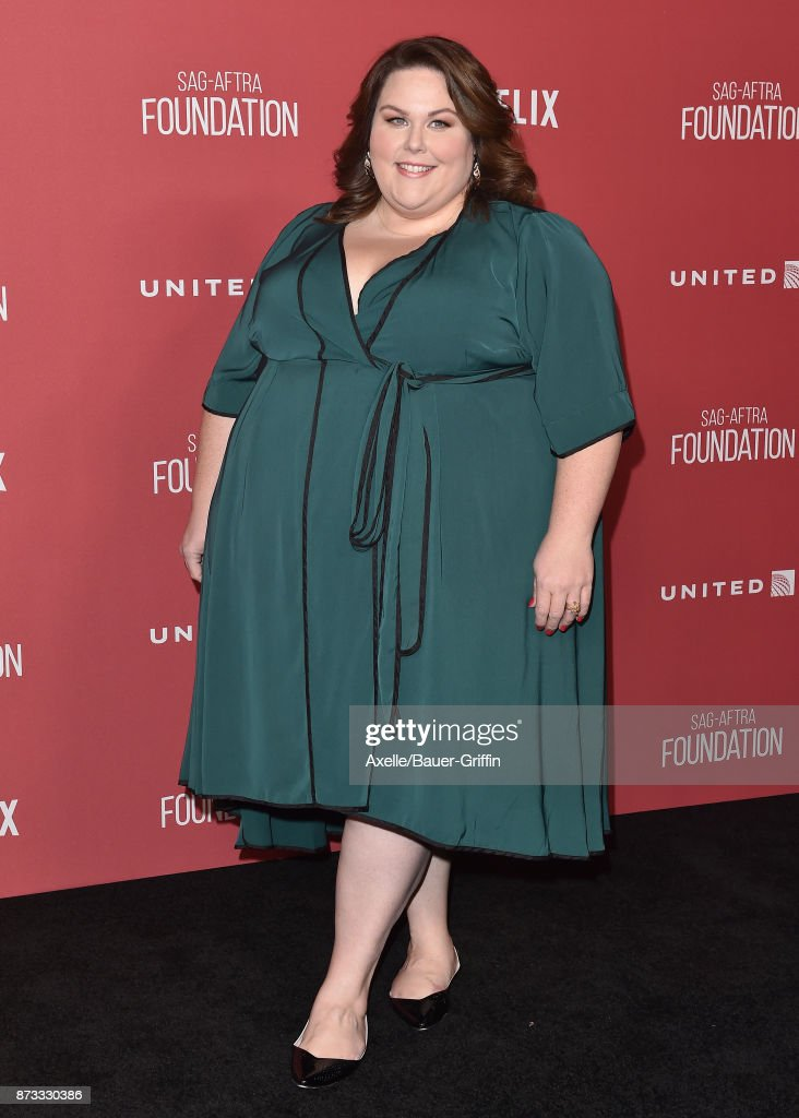 Actress Chrissy Metz arrives at SAG-AFTRA Foundation Patron of the Artists Awards 2017 on November 9, 2017 in Beverly Hills, California.