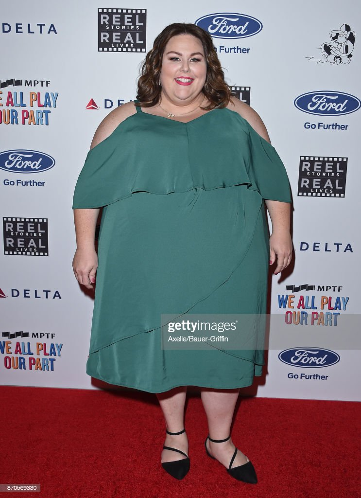 Actress Chrissy Metz arrives at the 6th Annual Reel Stories, Real Lives at Milk Studios on November 2, 2017 in Hollywood, California.