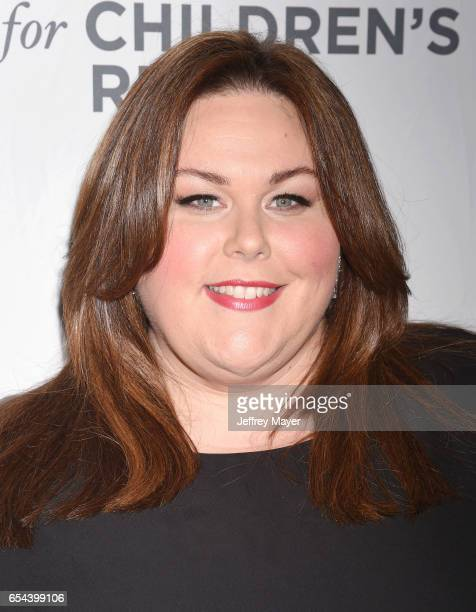 Actress Chrissy Metz arrives at the Alliance For Children's Rights 25th Anniversary Celebration at The Beverly Hilton Hotel on March 16 2017 in...