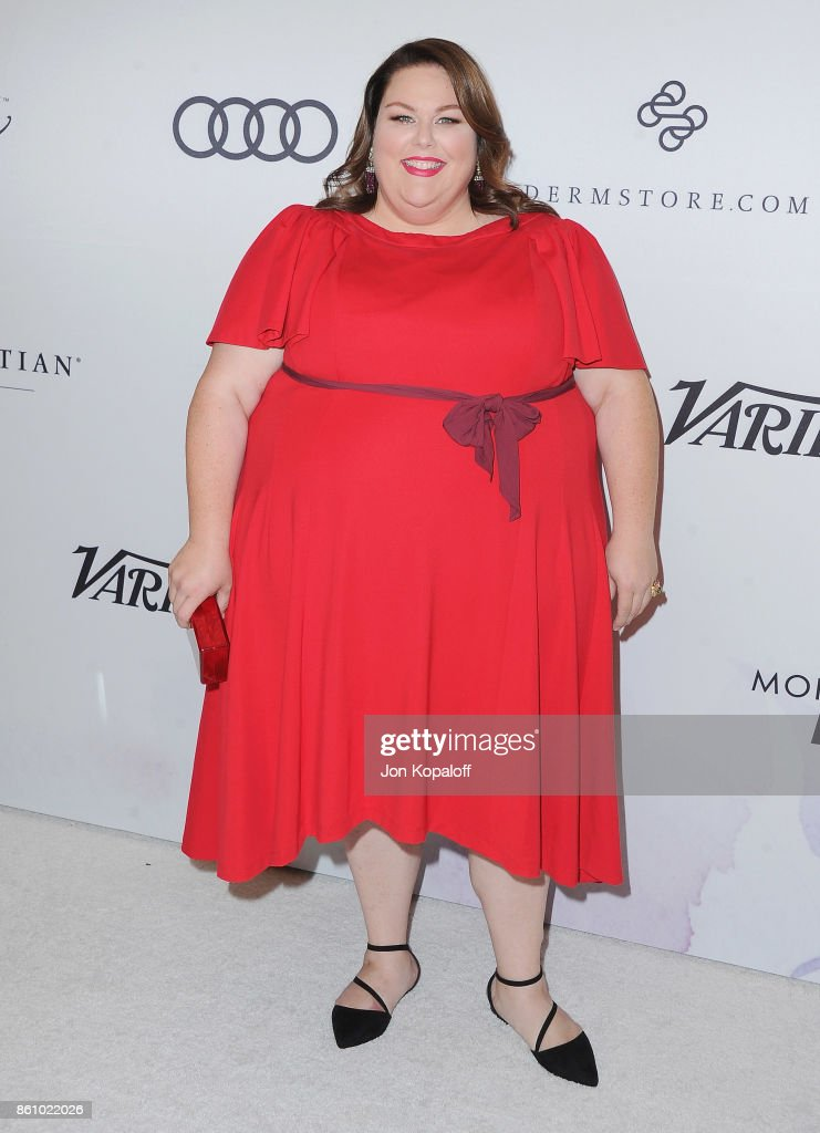 Actress Chrissy Metz arrives at Variety's Power Of Women: Los Angeles at the Beverly Wilshire Four Seasons Hotel on October 13, 2017 in Beverly Hills, California.
