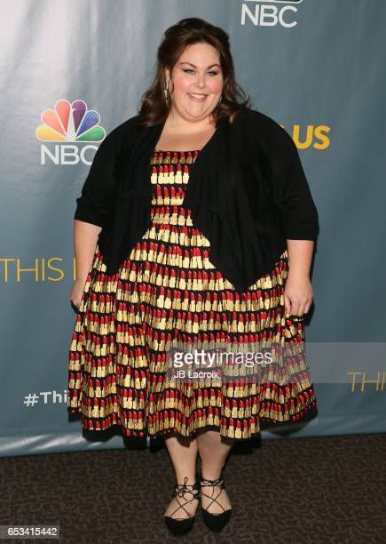 Actress Chrissy Metz attends a screening of NBC's 'This Is Us' Finale on March 14 2017 in Beverly Hills California