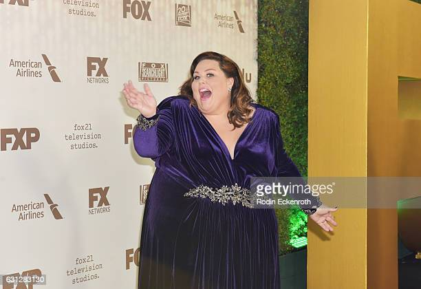 Actress Chrissy Metz attends FOX and FX's 2017 Golden Globe Awards after party at The Beverly Hilton Hotel on January 8 2017 in Beverly Hills...