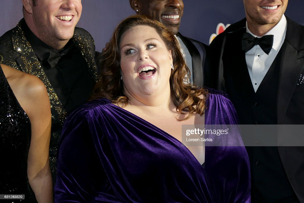 Actress Chrissy Metz attends NBCUniversal's 74th Annual Golden Globes After Party at The Beverly Hilton Hotel on January 8, 2017 in Beverly Hills, California.