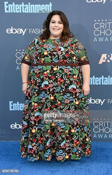 Actress Chrissy Metz attends The 22nd Annual Critics' Choice Awards at Barker Hangar on December 11 2016 in Santa Monica California