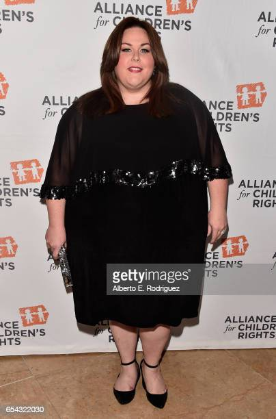 Actress Chrissy Metz attends The Alliance For Children's Rights 25th Anniversary Celebration at The Beverly Hilton Hotel on March 16 2017 in Beverly...