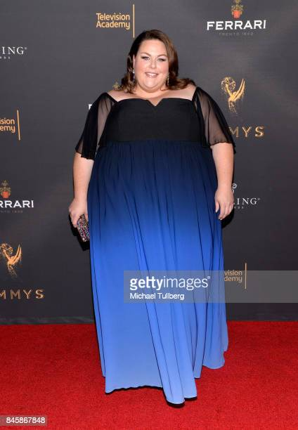 Actress Chrissy Metz attends the Television Academy's celebration for Emmy nominees for Outstanding Writing at Saban Media Center on September 11...