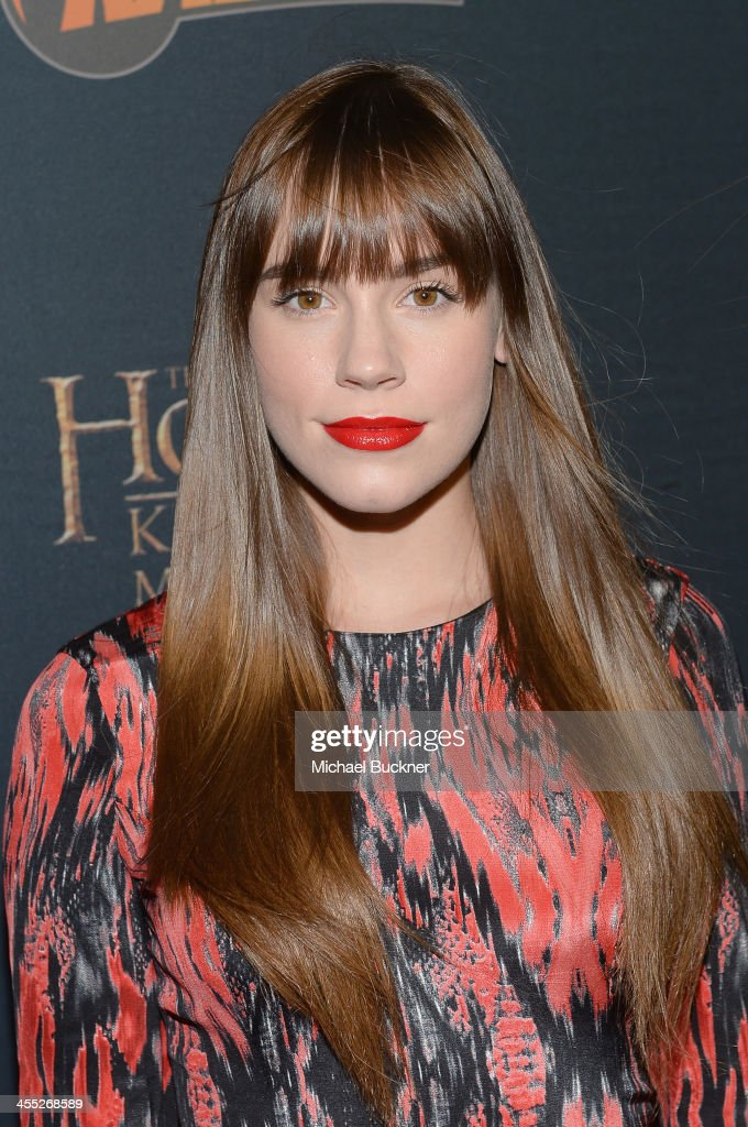 Actress Christa B. Allen arrives at 'The Hobbit: The Desolation Of Smaug Expansion Pack' Kabam Mobile Game hits the red carpet at Eveleigh on December 11, 2013 in West Hollywood, California.
