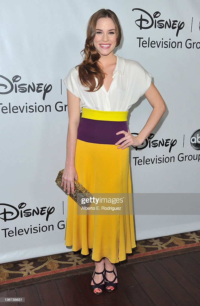 Actress Christa B. Allen arrives to the Disney ABC Television Group's 'TCA Winter Press Tour' on January 10, 2012 in Pasadena, California.