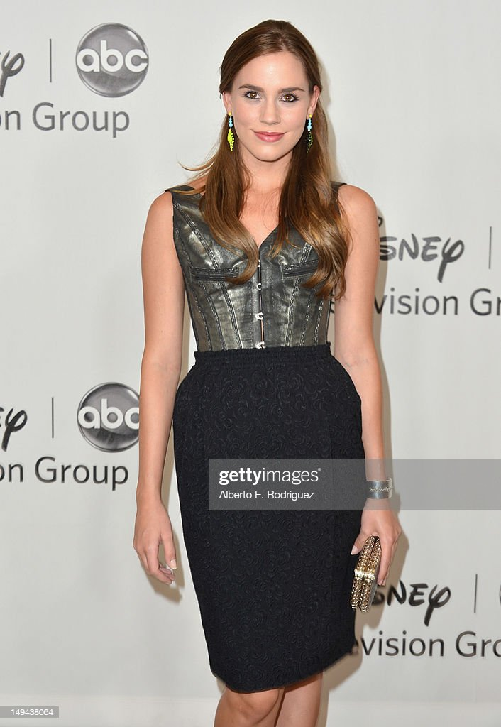 Actress Christa B. Allen arrives to the Disney ABC Television Group's 2012 'TCA Summer Press Tour' on July 27, 2012 in Beverly Hills, California.