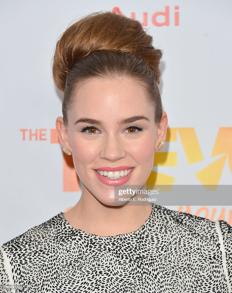 Actress Christa B. Allen arrives to The Trevor Project's 'Trevor Live' event honoring singer Katy Perry at the Hollywood Palladium on December 2, 2012 in Hollywood, California.