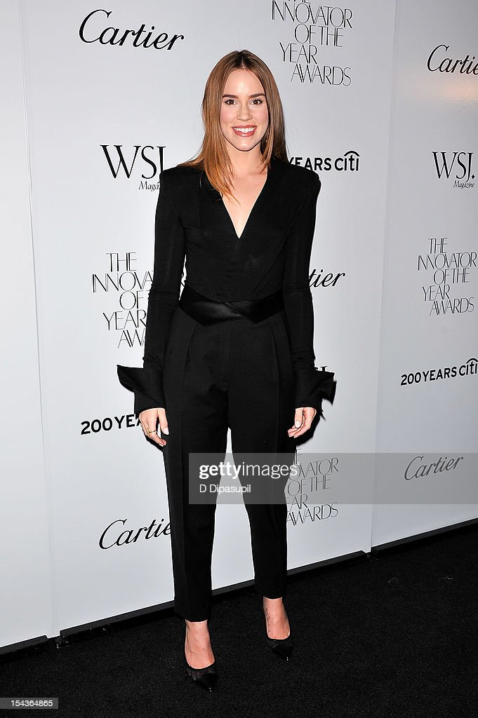 Actress Christa B. Allen attends the 2012 WSJ. Magazine 'Innovator Of The Year' Awards at the Museum of Modern Art on October 18, 2012 in New York City.