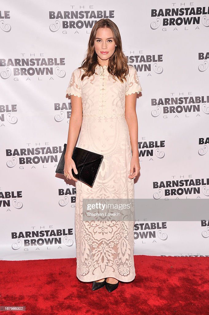 Actress Christa B. Allen attends the 2013 Barnstable-Brown Derby gala at Barnstable-Brown House on May 3, 2013 in Louisville, Kentucky.