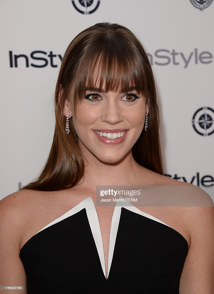 Actress Christa B. Allen attends the InStyle Summer Soiree held Poolside at the Mondrian hotel on August 14, 2013 in West Hollywood, California.