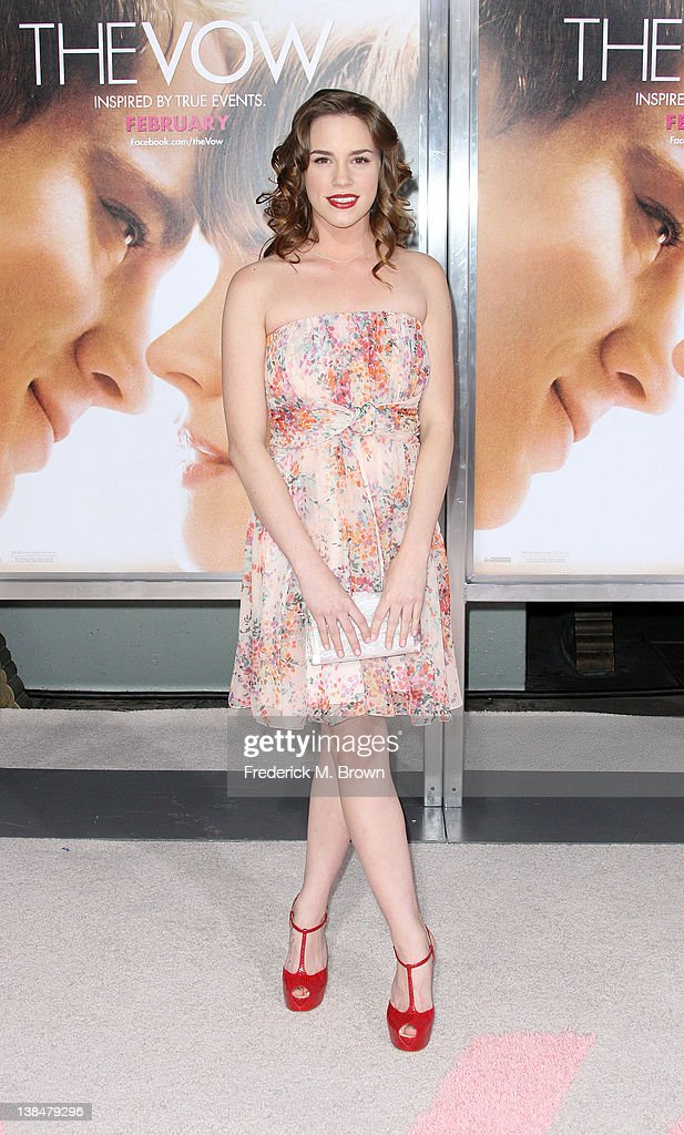 Actress Christa B. Allen attends the Premiere of Sony Pictures' 'The Vow' at Grauman's Chinese Theatre on February 6, 2012 in Hollywood, California.