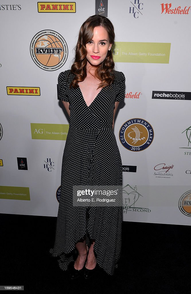 Actress Christa B. Allen joined President Bill Clinton and Kobe Bryant at the grand opening of STEP UP ON VINE on January 14, 2013 in Los Angeles, California.