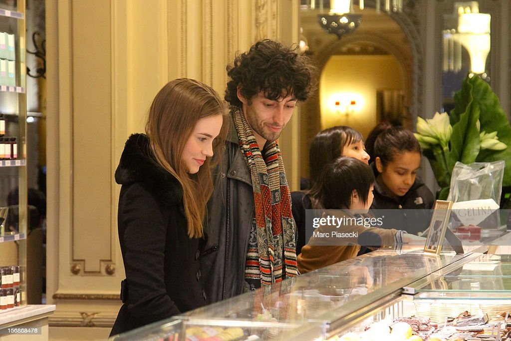 Actress Christa Brittany Allen is seen at the 'Angelina' tearoom on November 23, 2012 in Paris, France.