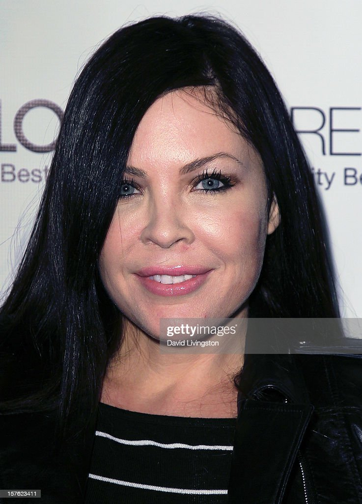 Actress <a gi-track='captionPersonalityLinkClicked' href=/galleries/search?phrase=Christa+Campbell&family=editorial&specificpeople=228711 ng-click='$event.stopPropagation()'>Christa Campbell</a> attends the Fredric Fekkai Salon Holiday Party at Frederic Fekkai Hair Salon on December 4, 2012 in West Hollywood, California.