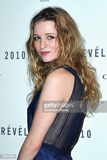 Actress Christa Theret attends the Chaumet's cocktail party for Cesar's Revelations on January 18 2010 in Paris France