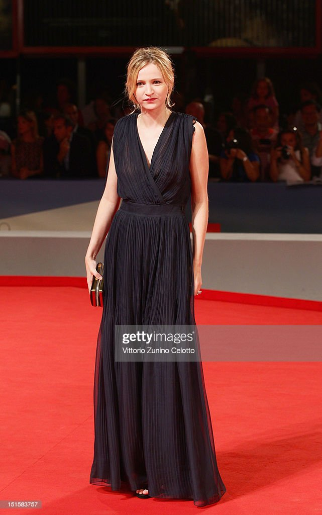 Actress Christa Theret attends the 'L'Homme Qui Rit' Premiere during the 69th Venice Film Festival at the Palazzo del Cinema on September 8, 2012 in Venice, Italy.