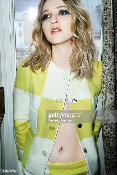 Actress Christa Theret is photographed for Flaunt Magazine on April 1 2013 in Paris France PUBLISHED IMAGE