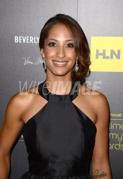 Actress christel khalil arrives at the 39th annual daytime for Christel khalil tattoos