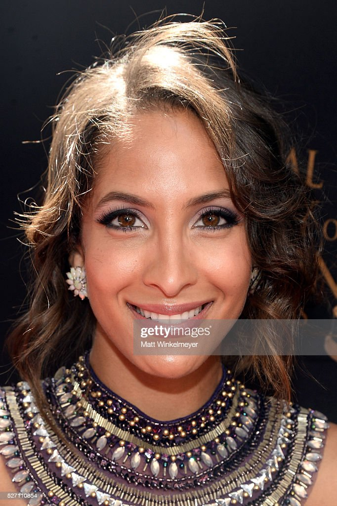 Actress <a gi-track='captionPersonalityLinkClicked' href=/galleries/search?phrase=Christel+Khalil&family=editorial&specificpeople=241522 ng-click='$event.stopPropagation()'>Christel Khalil</a> arrives at the 43rd Annual Daytime Emmy Awards at the Westin Bonaventure Hotel on May 1, 2016 in Los Angeles, California.