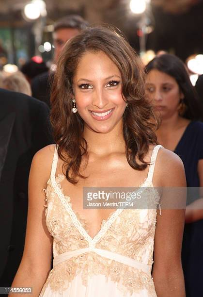 Actress Christel Khalil arrives to The 35th Annual Daytime Emmy Awards at the Kodak Theatre on June 20 2008 in Los Angeles California