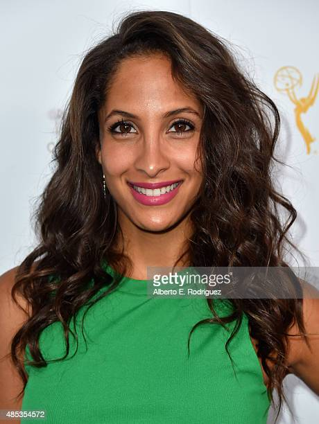 Actress Christel Khalil attends a cocktail reception hosted by the Academy of Television Arts Sciences celebrating the Daytime Peer Group at Montage...
