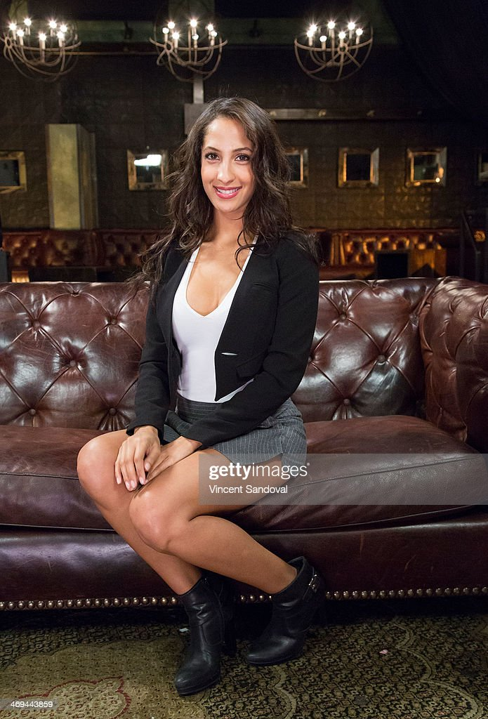 Actress <a gi-track='captionPersonalityLinkClicked' href=/galleries/search?phrase=Christel+Khalil&family=editorial&specificpeople=241522 ng-click='$event.stopPropagation()'>Christel Khalil</a> attends Kevin Frazier hosts roundtable discussion with CBS Daytime's NAACP Award Nominees at The Sayers Club on February 14, 2014 in Hollywood, California.