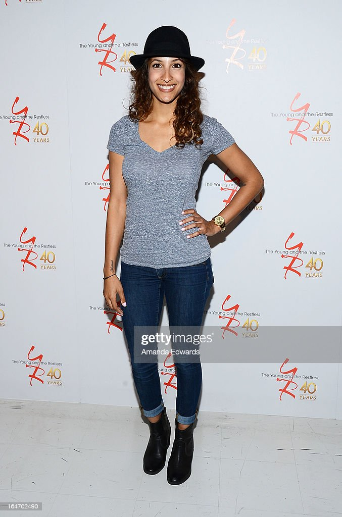 The young the restless 40th anniversary cake cutting for Christel khalil tattoos