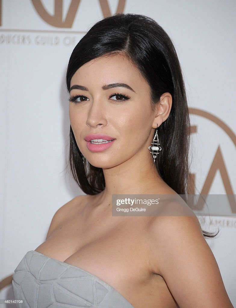 Actress Christian Serratos arrives at the 26th Annual Producers Guild Of America Awards at the Hyatt Regency Century Plaza on January 24, 2015 in Los Angeles, California.
