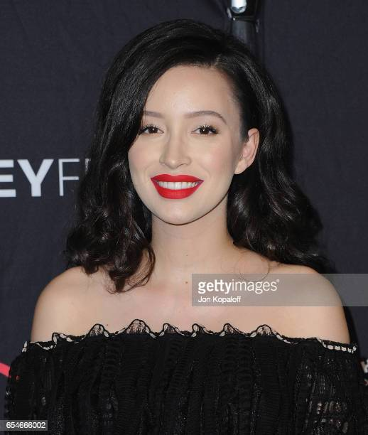 Actress Christian Serratos arrives at The Paley Center For Media's 34th Annual PaleyFest Los Angeles Opening Night Presentation 'The Walking Dead' at...