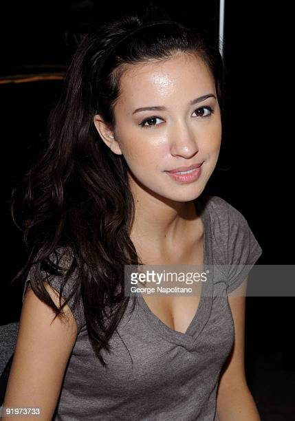 Actress Christian Serratos attends day 2 of the 2009 Big Apple Comic Con at Pier 94 on October 17 2009 in New York City