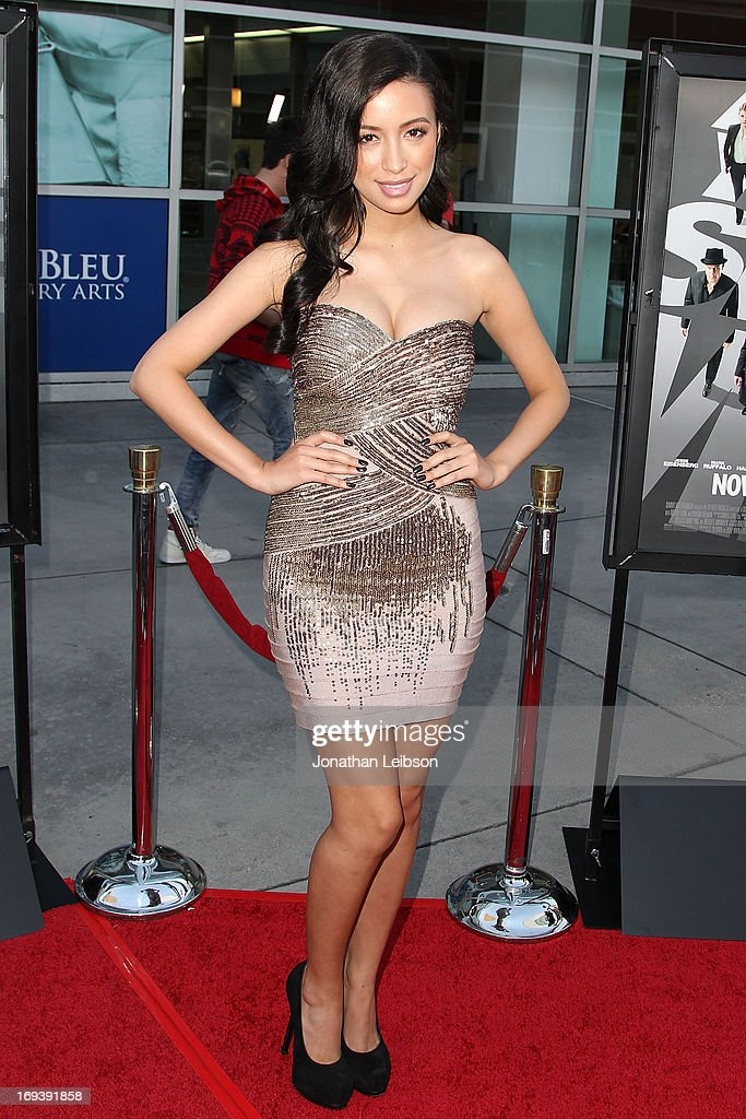 Actress Christian Serratos attends the 'Now You See Me' - Los Angeles Special Screening at ArcLight Hollywood on May 23, 2013 in Hollywood, California.